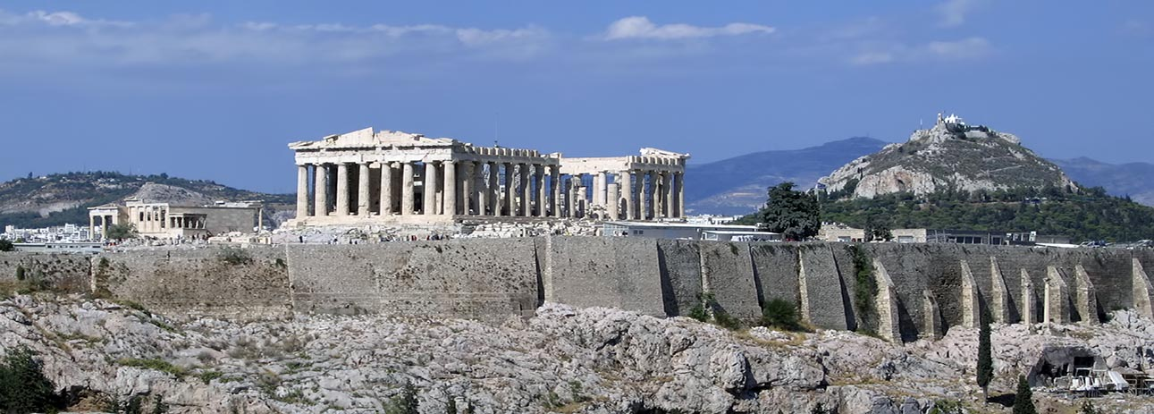 Acropolis - the iconic profile of Athens
