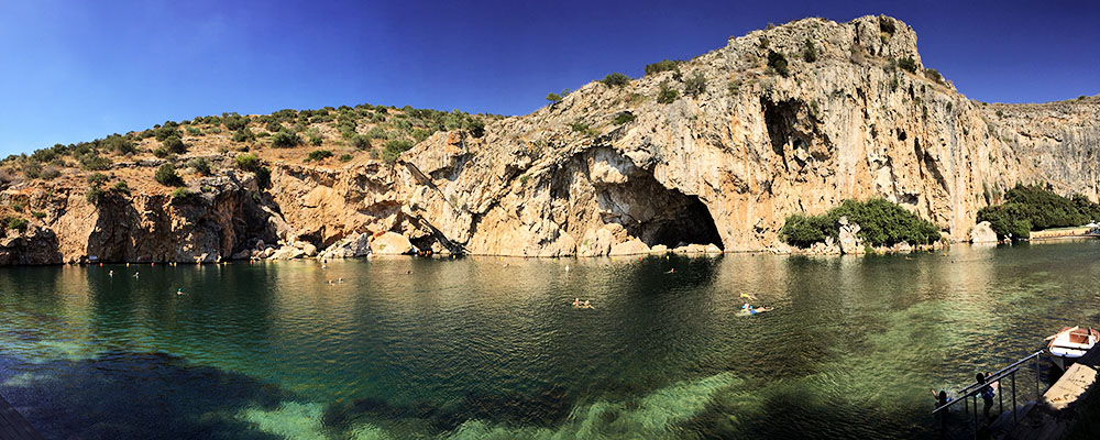 Thermal Waters Spa at Vouliagmeni Lake