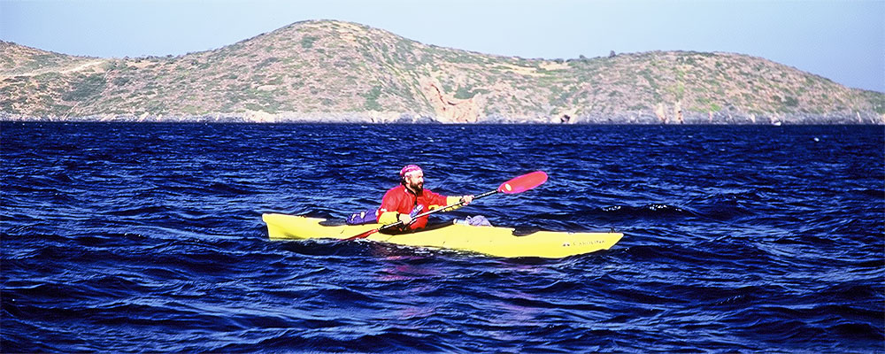 Sea Kayaking at Porto Rafti